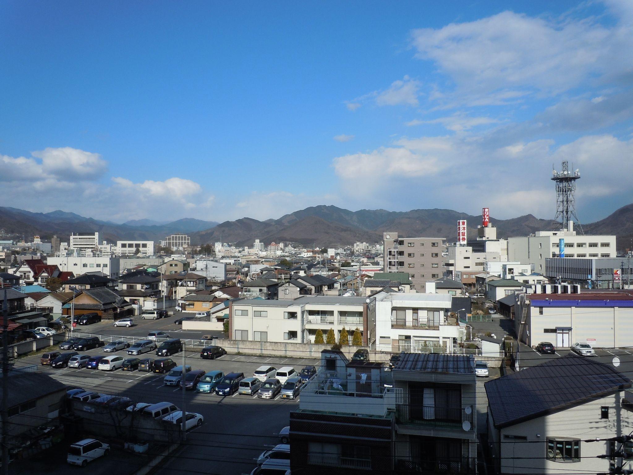 2011年3月11日15時5分ごろ撮影。桐生市内