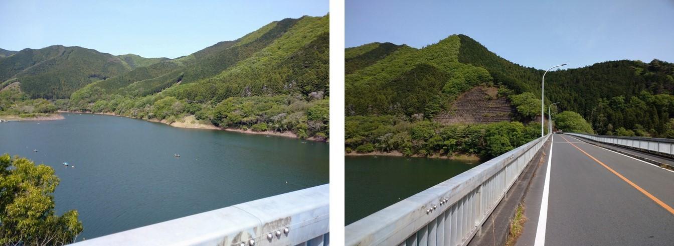 梅田湖・梅田大橋