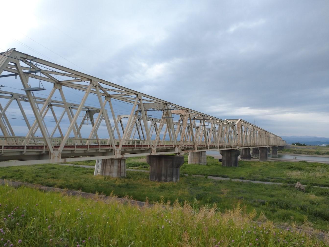 東武伊勢崎線利根川橋梁