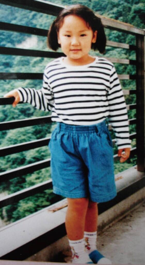 ゆかりちゃん(当時4歳)
