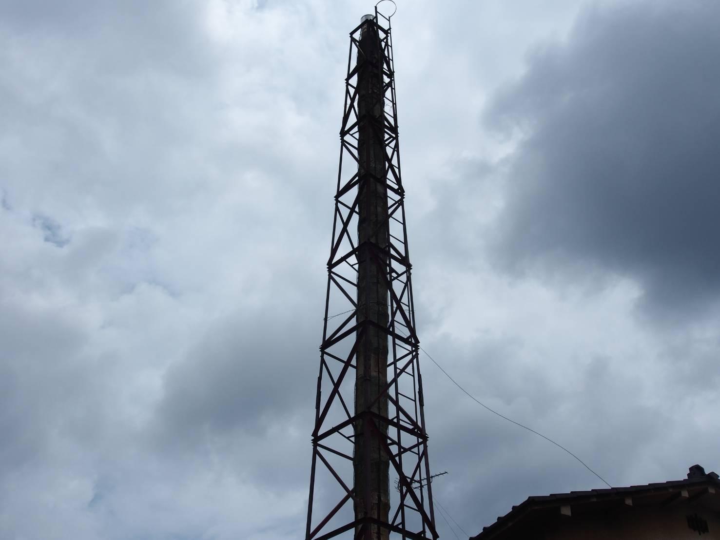 上の湯の煙突