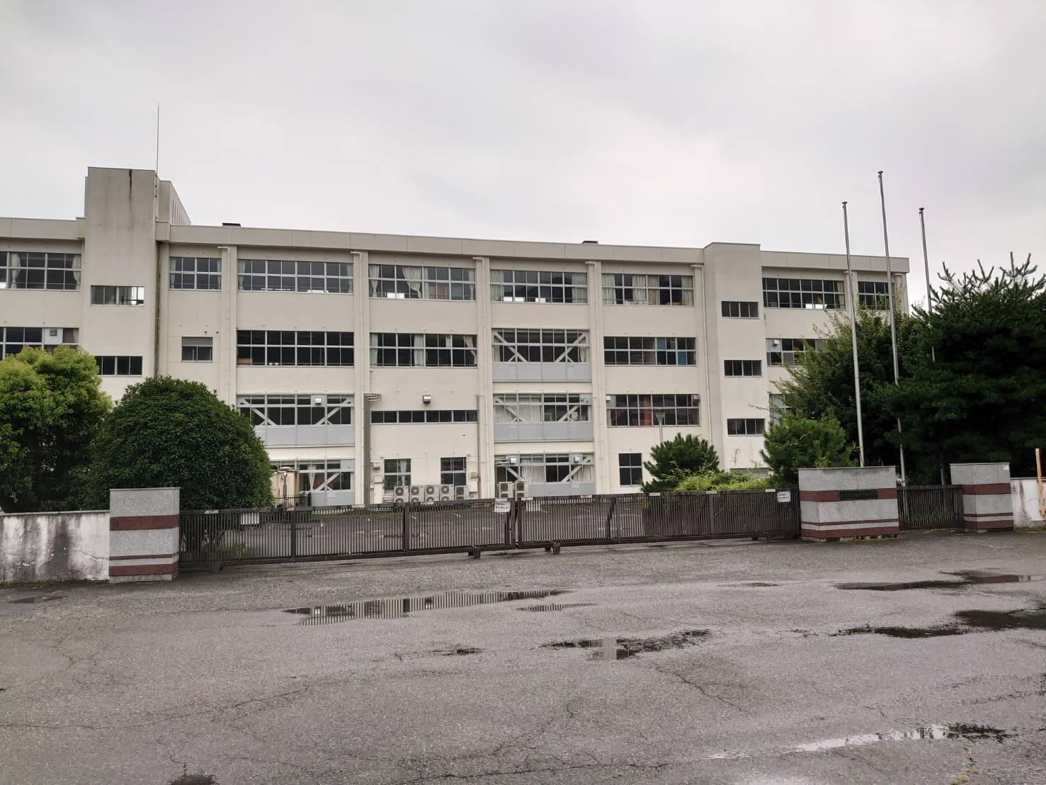 旧桐生女子高等学校の校舎